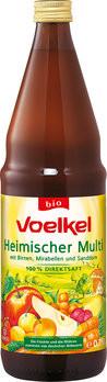 Bio Heimischer Multi (Beeren, Mirabellen, Sanddorn, 100% Direktsaft)