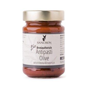 Bio Antipasti-Olive Brotaufstrich