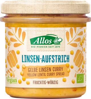 Bio Linsen-Aufstrich Gelbe Linse-Curry