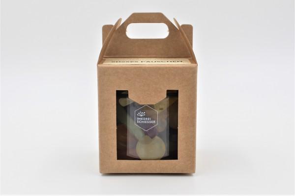 """1er Geschenkbox """"Süßes Päuschen"""" (Fruchtgummi Vegan)"""