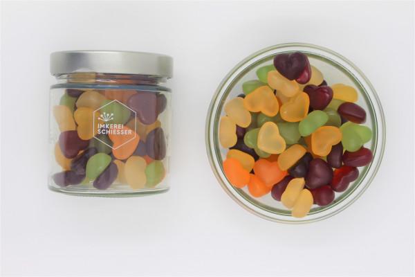 Bio Fruchtgummiherzen (Vegan)