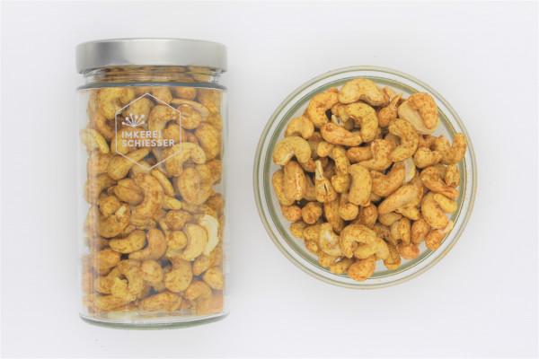Bio Cashewkerne (Curry-Salz)