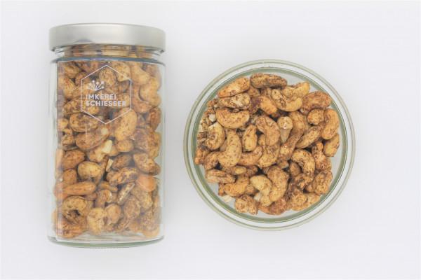 Bio Cashewkerne (Knoblauch-Pfeffer)