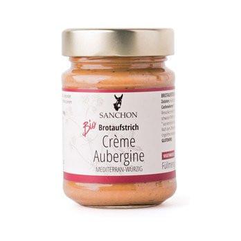 Bio Crème Aubergine Brotaufstrich