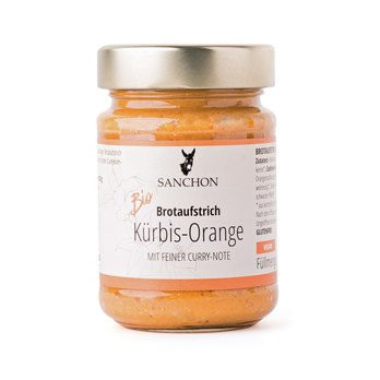 Bio Kürbis-Orange Brotaufstrich