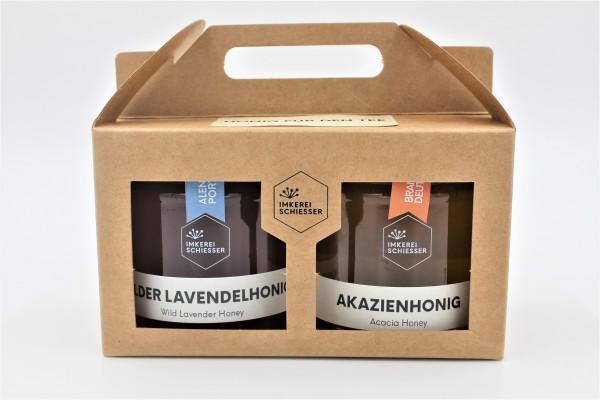 """2er Geschenkbox """"Honig für den Tee"""""""