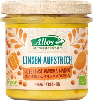Bio Linsen-Aufstrich Paprika-Mango