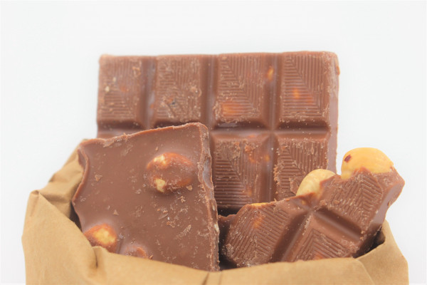 Bio Schokolade (Haselnusstraum)